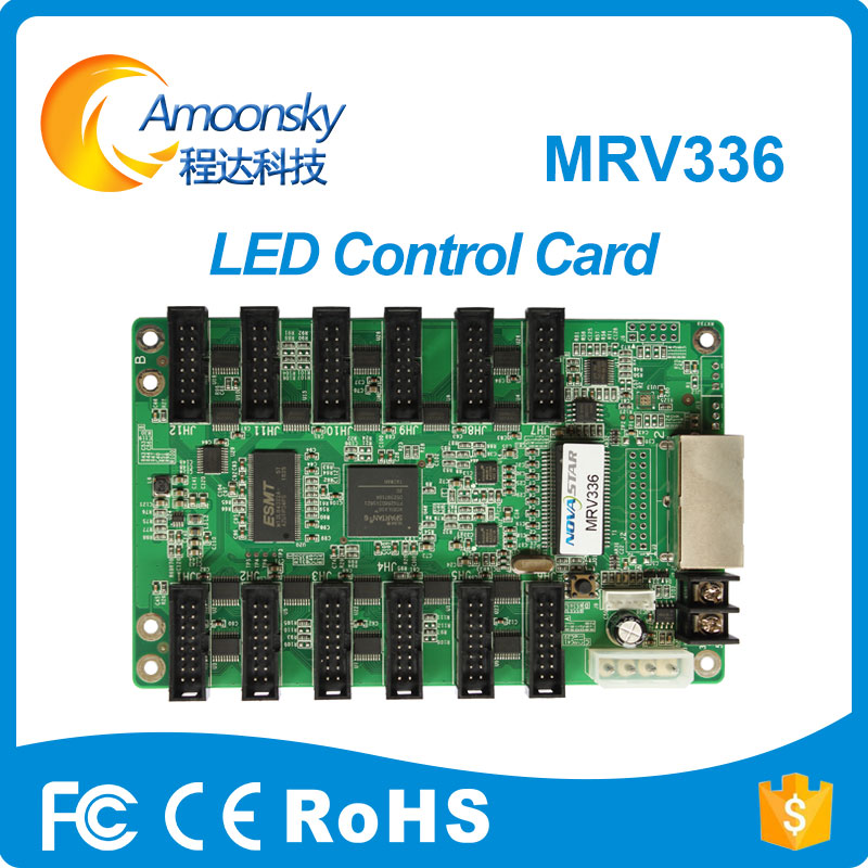Novastar MRV336 Full Color LED Video Display Receiving Card Support 32 Scan LED Module Nova Receiver MRV336 Original Factroy