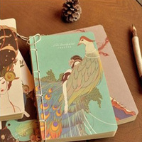 Free Shipping NEW Vintage Flowers Series Diary Book 180pages DIY Multifunction Paper Notebooks Diaries Office Supply