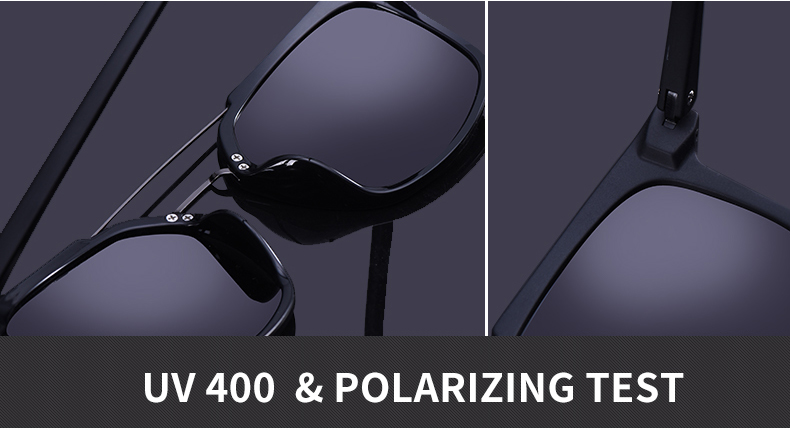 AOFLY BRAND DESIGN Classic Polarized Sunglasses Men Driving TR90 Frame Sunglasses Goggles UV400 Gafas Oculos De Sol AF8091