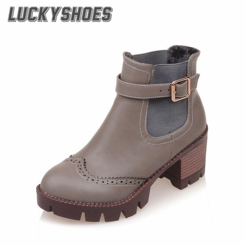 Online Get Cheap Women Brogue Boots -Aliexpress.com | Alibaba Group