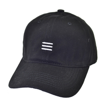 цена на 2019 New Brand 100%Cotton Mens Hat Tri-bar embroidery Baseball Cap Fashion Summer Women Men Snapback Hats Casual Caps