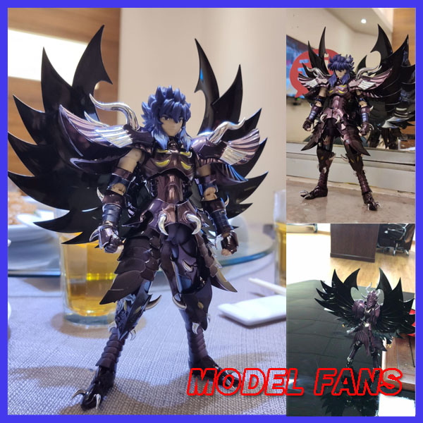 Modèle FANS en stock chuanshen cs Saint Seiya Specters EX Garuda Aiakos figurine en tissu mythe armure en métal