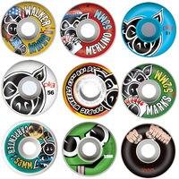 USA Brand Skateboard Wheels 51/52/53/54/55/56mm Skate Wheel 4PCS Hot Sale 101A PU Wheels for Skateboarding Deck Accessories