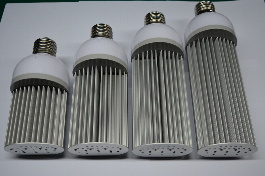12 шт./лот E27/E40 55 Вт 220 градусов светодиодный уличный свет l30LM/W IP64 hps уличный светильник Замена светодиодный кукурузная лампа 3 года гарантии