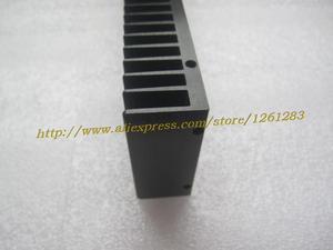 Image 2 - 1pcs 245mm+60mm+25mm Full Aluminum E Heatsink For Power Amplifier DIY Radiator