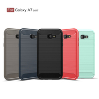 100 New Silicone Case For Samsung Galaxy A3 2017 Case Protective TPU Back Cover Phone Case