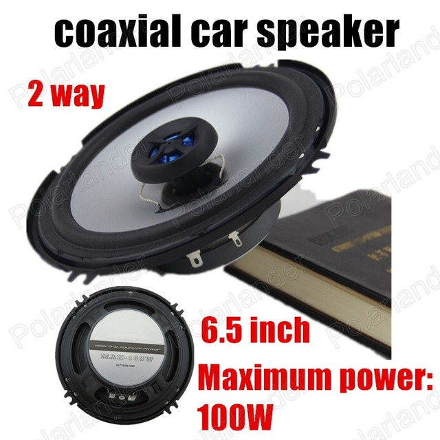 2 pcs 6.5 inch 2x100W waterproof car stereo speakers audio speaker coaxial car speaker 2 way for all cars high quality