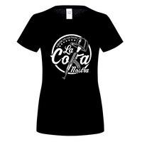 GILDAN La Coka Nostra Funny T Shirts Women Hot Hip Hop Tshirt Homme Short Sleeve Tops