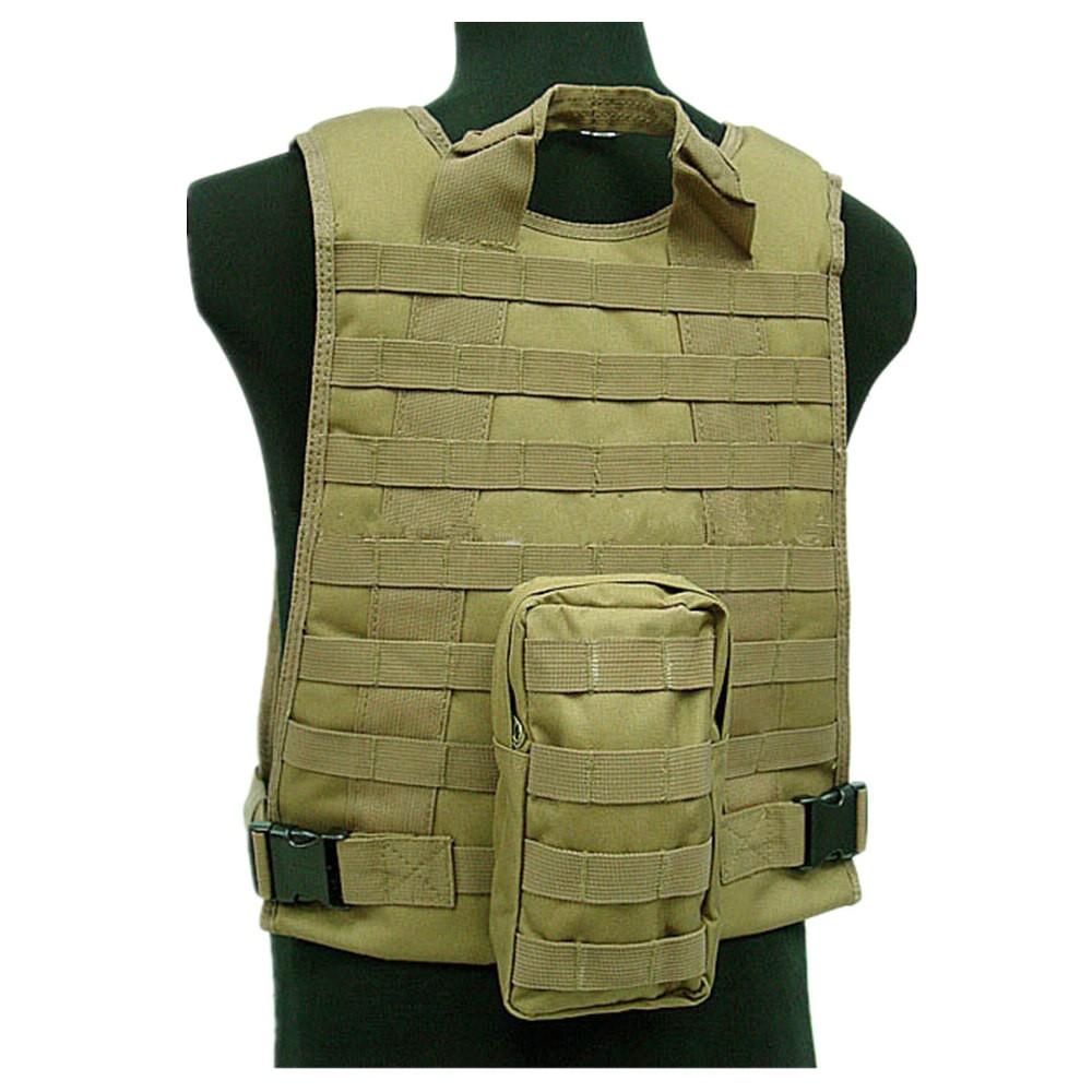 US Marine Assault Tactical Molle Plate Carrier Vest BK CB vest (5)