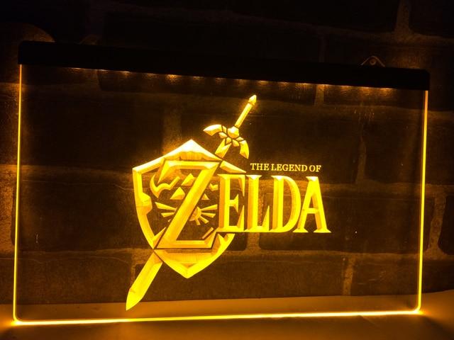 LH040 Legend Of Zelda Video Game LED Neon Light Sign Home Decor Crafts