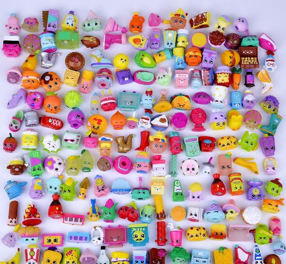 20-200 PCS/LOT Hotsale Shop Action Figures for Shopkin Fruit Kins Shopping Dolls Kid's Christmas Gift Playing Toys Mixed Seasons