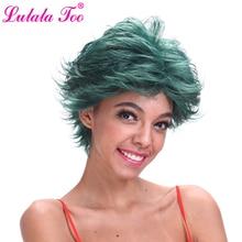 Short Dark Green Synthetic Wig For Women Or Men My Boku no Hero Academia Deku Izuku Midoriya Anime Costume Cosplay