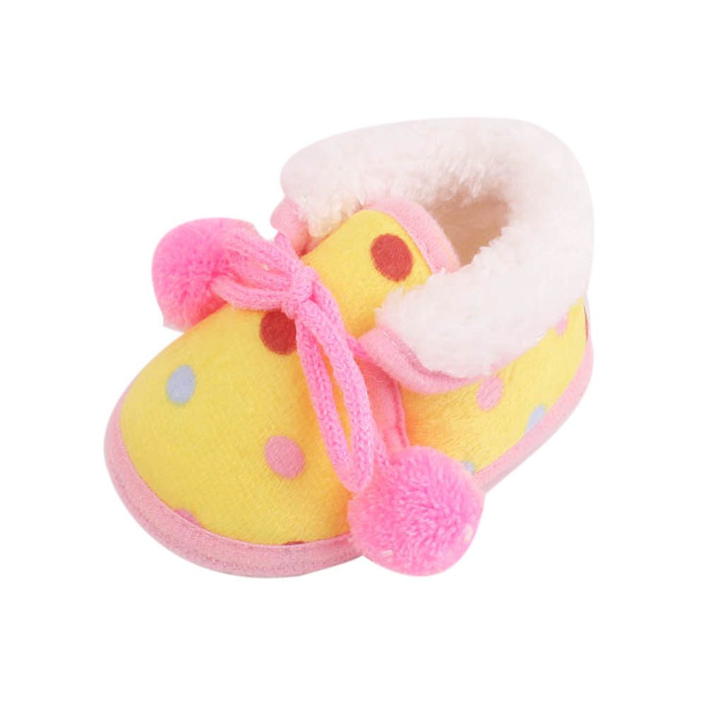 2017 fashion baby shoes for skiing in winter Cute Newborn Toddler First Walkers Baby Boy Girl Shoes Sneakers Boots