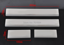 For Jeep Grand Cherokee Protector threshold 2011-2015 2012 2013 2014 Door Sill Guards Set 4 Pieces New [QPA153]