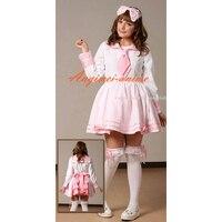 School Uniform Dress Lolita Girl Clothing Cosplay Costume Tailor made