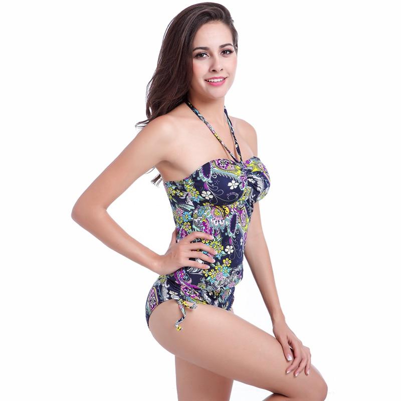 add814de569d0 Aliexpress.com : Buy Most Popular Vintage Prints Tankini Swimsuit Women  2019 Adjustable Bottom High Waisted Swimwear Bathing Suit Maillot De Bain  from ...