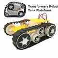Plataforma deformação robô tanque de lagartas Caterpillar veículo Inteligente para Arduino SN1900
