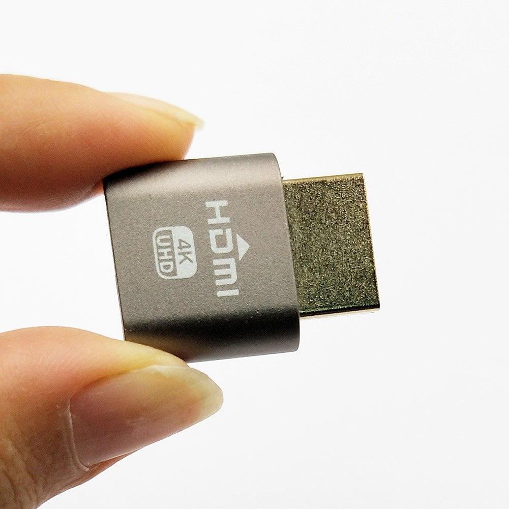 WBTUO Virtuelle VGA Display Adapter HDMI 1.4 DDC EDID Factice Plug Affichage Émulateur XXM8