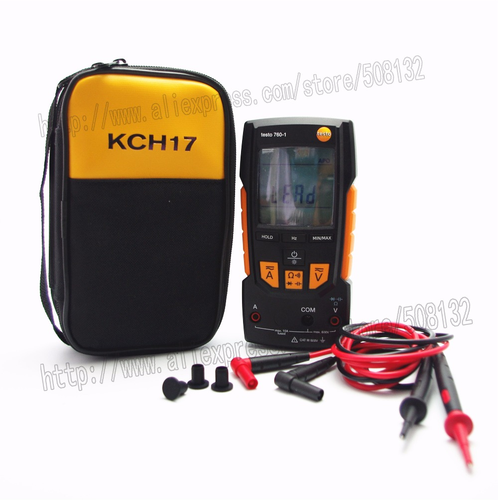 testo 760-1 Digital multimeter Meter DMM 0590 7601 With Soft Case KCH17