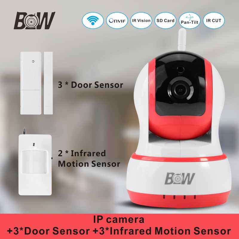 BW Wireless Mini font b Camera b font IP 3 font b Door b font Sensor