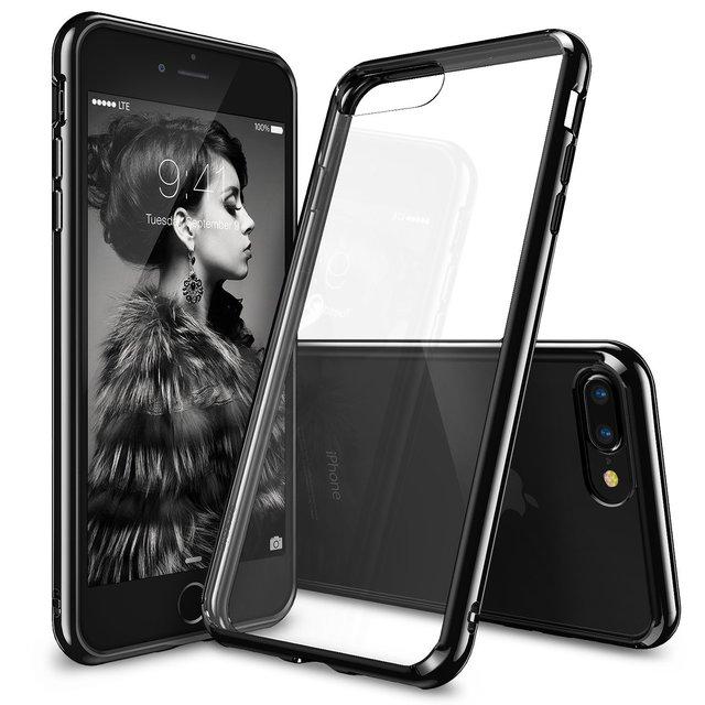 Original ringke fusión caso para iphone 7/iphone 7 más Alta Calidad Borrar Back Panel de Resistencia A Caídas de Grado Militar casos