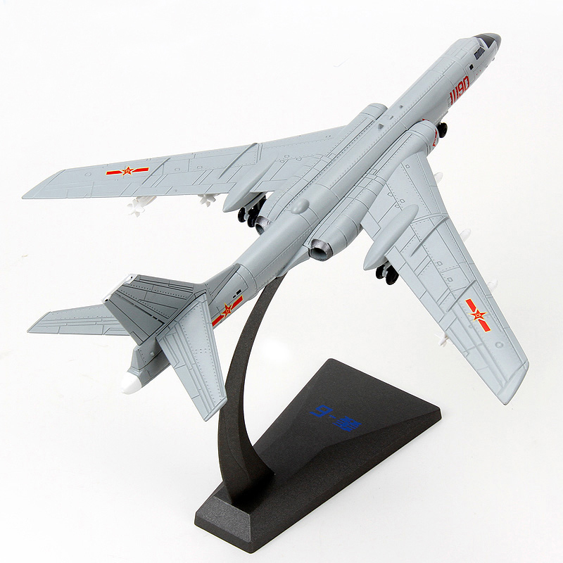 New 1/144 Scale Plane Model Toy China H6K Bomber Model Plane Diecast Metal Model Plane Toy For Adult Gifts Collection aeroclassics a330 200 vh eba 1 400 jetstar commercial jetliners plane model hobby