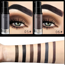 6 Colors Long-lasting Eyebrow Cream Natural Liuqid Eyebrow Gel Tattoo Makeup Eye Brow Tint Brows Pigment Black Eyebrow Enhancer(China)