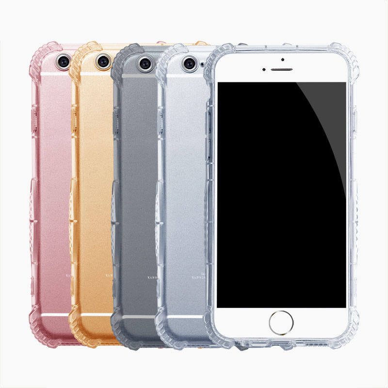 wholesale dealer b7fb6 9f5b1 US $7.98 |For iPhone 7 Plus AntiKnock Air Cushion Thick Soft TPU  Transparent Phone Cases Shockproof Clear Phone Back Cover for iPhone7Plus  on ...
