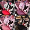 15PCS Luxury Winter Short Plush Cute Cartoon Universal Car Seat Cover Mickey Monkey Cow Fire