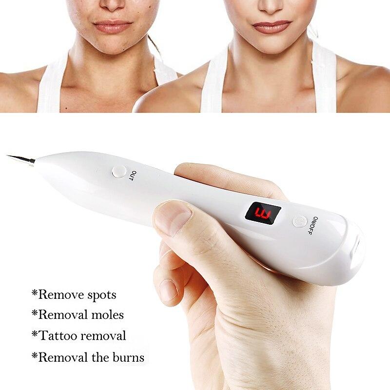 6 nível Plasma LEVOU Caneta Laser Freckle Remoção Tag Pele Tatuagem Toupeira Verruga Removedor de Mancha Escura/Remoção Pen/ caneta Para O Rosto Cuidados de Beleza