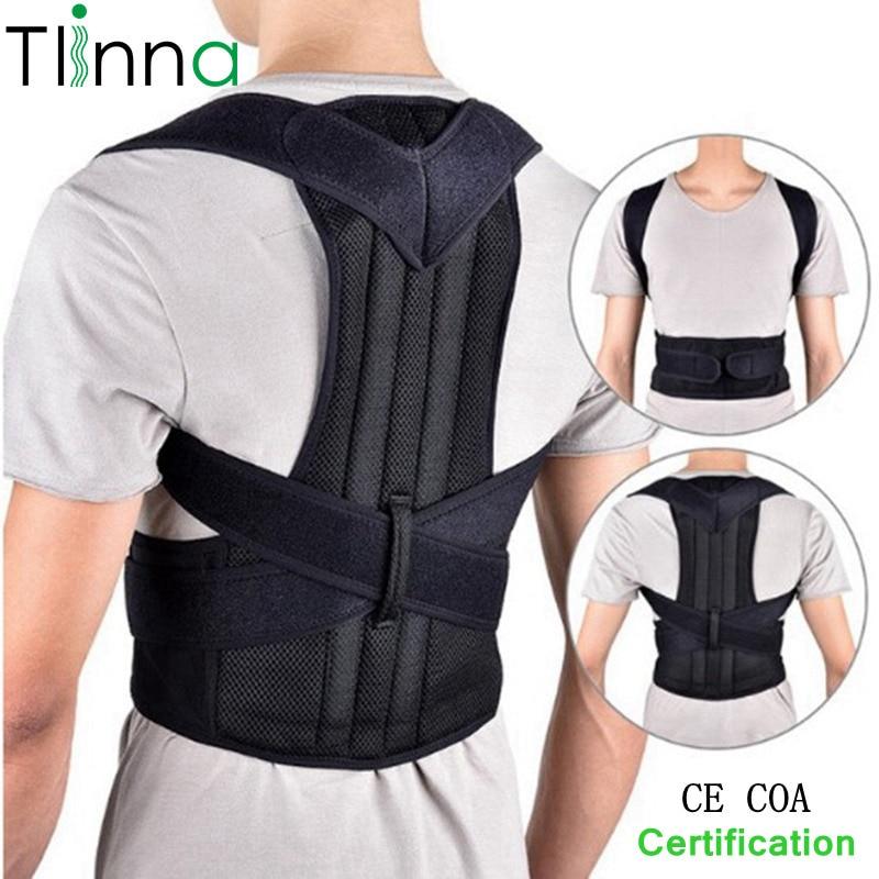 Einstellbare Buckel Wirbelsäule Haltung Corrector Schutz Zurück Schulter Support Haltung Korrektur Therapie Gürtel