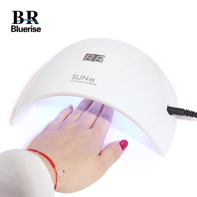 Uv Led Nail Lamp Dryer Double Light Gel Machine Manicure All Nails Polish Time
