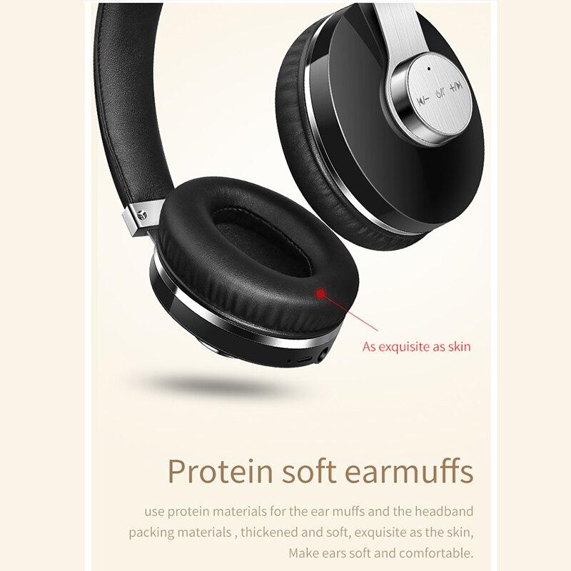 T9 casque Bluetooth réduction de bruit Active casque sans fil Portable et musique avec commande vocale - 3