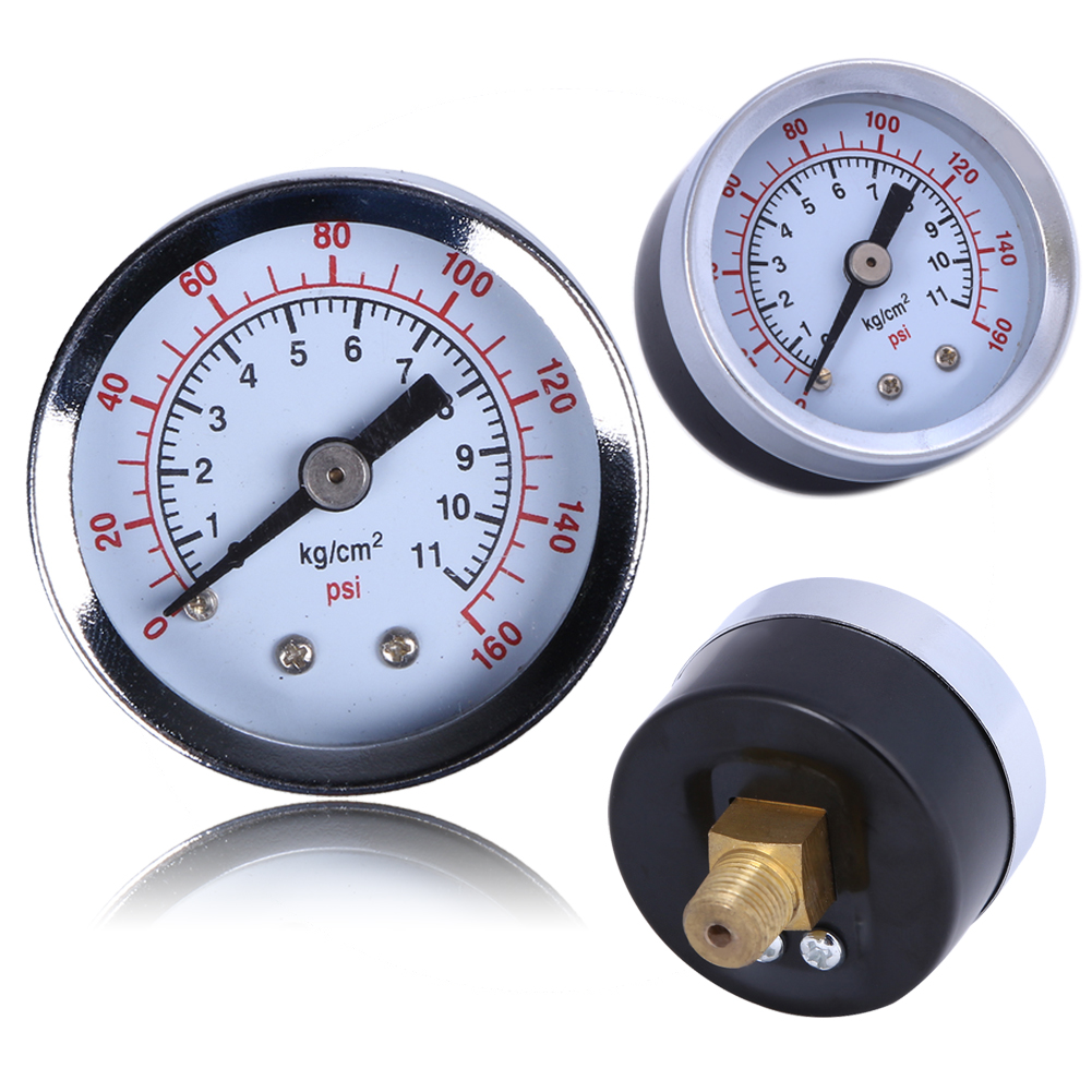 "1/8"" Mini Pressure Gauge Air Compressor Hydraulic Vacuum ..."