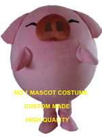 pink pig mascot costume green ant custom cartoon character cosplay carnival costume 3223