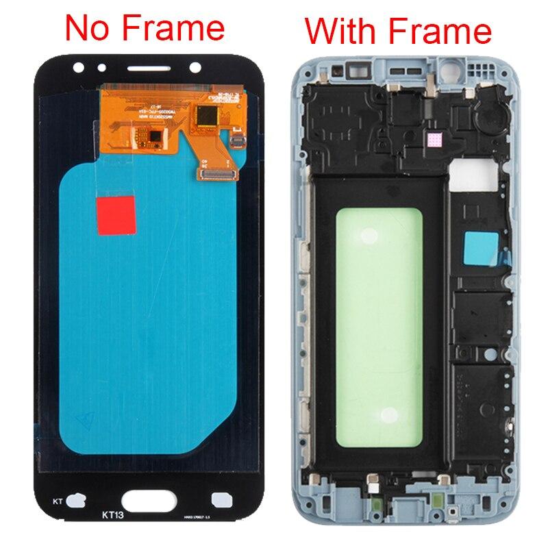 J530F AMOLED affichage d'origine pour Samsung Galaxy J5 2017 J530F écran LCD avec cadre écran tactile assemblage pièces de rechange - 2