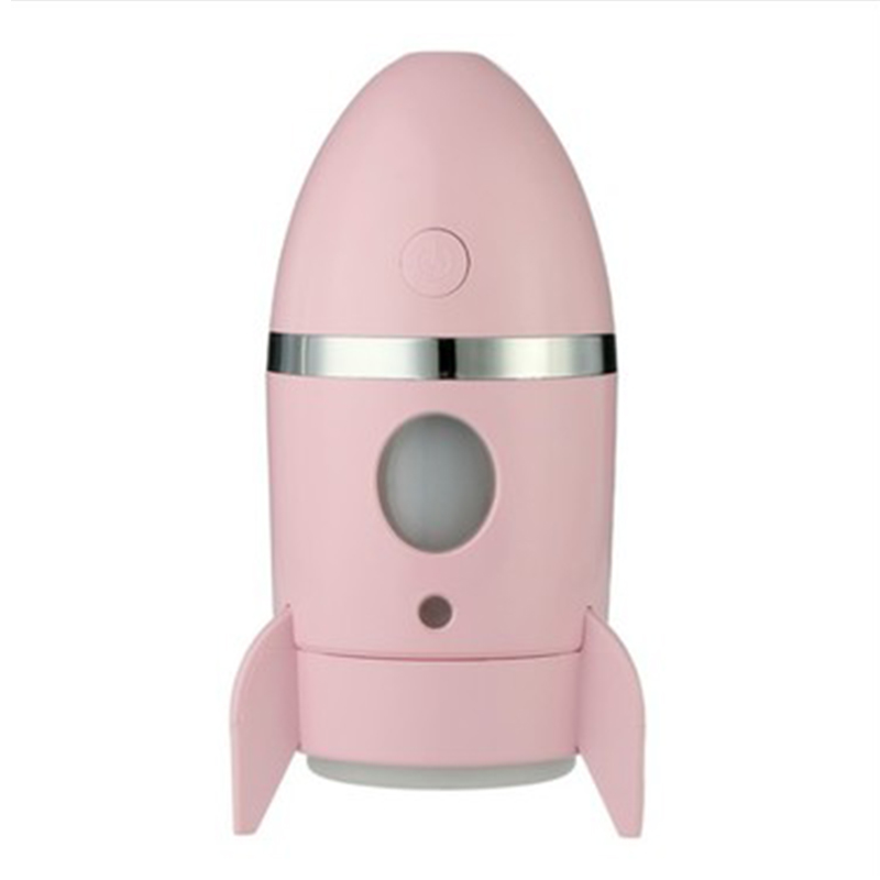 135Ml Rocket Air Humidifier Ultrasonic Essential Oils For Aromatherapy Diffusers Timer Water Fogger Mist Maker With Aroma Lamp