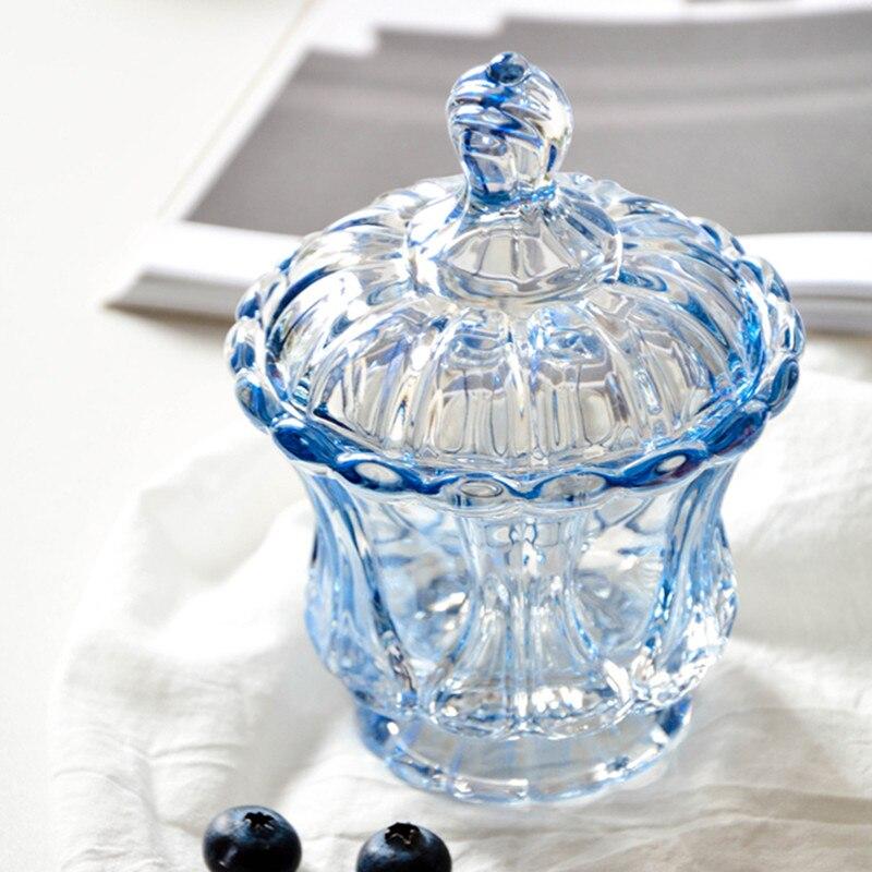 Eenvoudige mode snoep jar kleur glazen pot koffiebonen suiker blikjes - Home opslag en organisatie - Foto 3