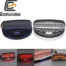 Eonstime Motorcycle Tail Light For Honda CB250 CB600 Hornet CBR1100XX 98-04 Brake Turn Signals License Plate