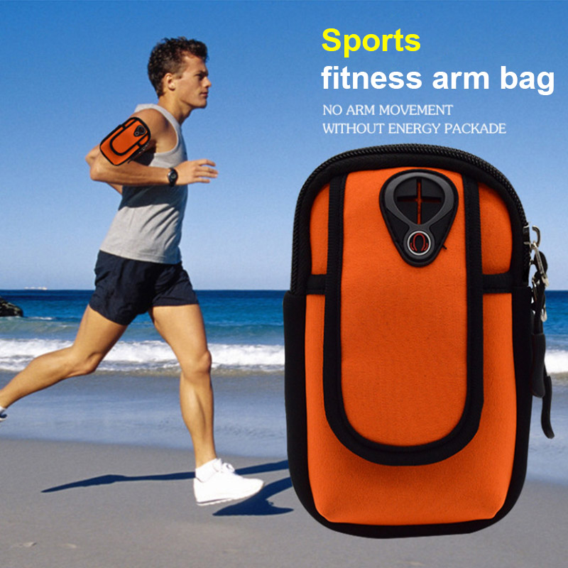Etmakit Phone Case Sport Armband Belt Cover Running Gym Bag Touchscreen Pouch For Iphone 8/x Samsung Huawei Nk-shopping Armbands Mobile Phone Accessories