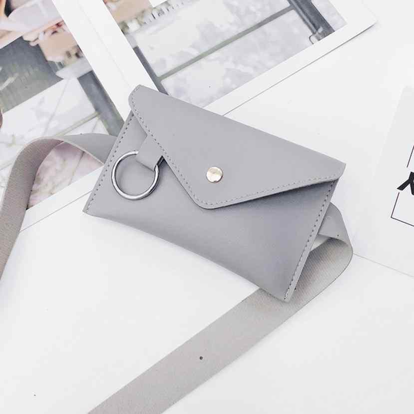 حزمة مراوح للنساء الصدر Crossbody الخصر حقيبة حزام نقود الخصر الهاتف حزمة Monedero النساء السفر #820