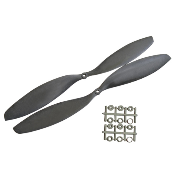 Gemfan 1447 Carbon Nylon CW/CCW Propeller APC For RC Multirotor gemfan 9045 nylon propeller cw ccw for rc mini multirotor 1 pair