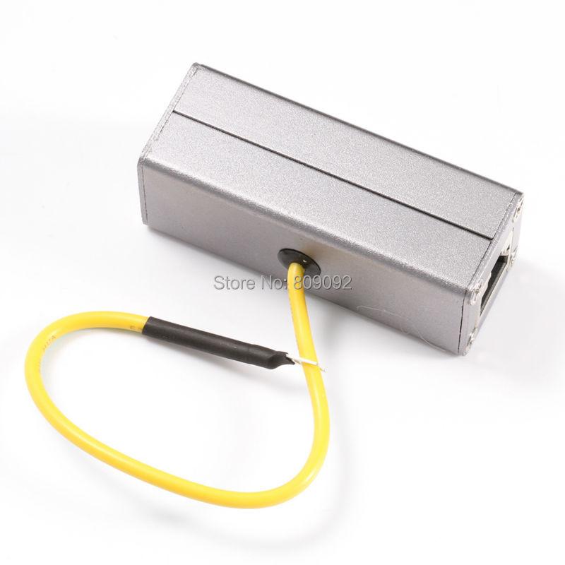 Ethernet Network RJ45 Adapter Surge Protector Device Lightning Thunder Arrester
