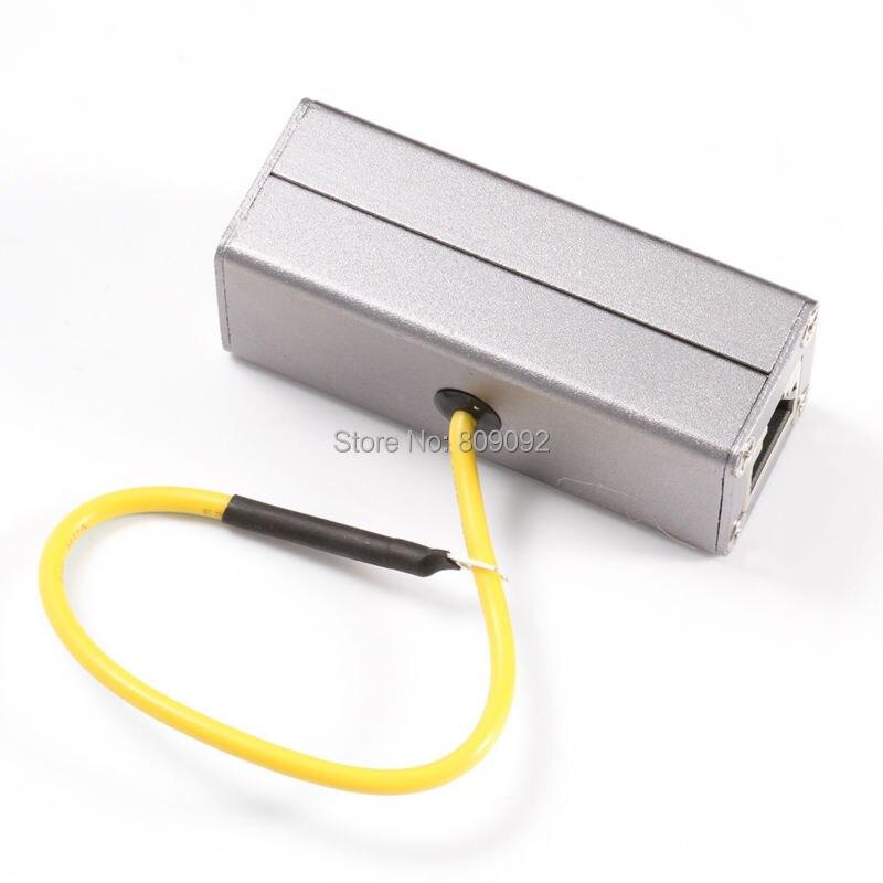 Ethernet Réseau RJ45 Adaptateur Dispositif Protecteur de Surtension Foudre Tonnerre Parafoudre