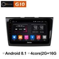 2GB RAM+16GB ROM Android 8.1 Quad 4Core Car DVD Player For Ford Taurus 2015 2016 2017 GPS Navi Radio Stereo BT TPMS DAB+