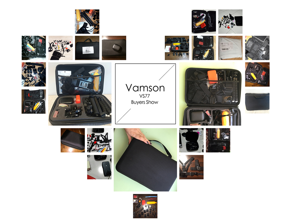 action camera Vamson Gopro Camera Accessories HTB1JecZQXXXXXa1XpXXq6xXFXXX8