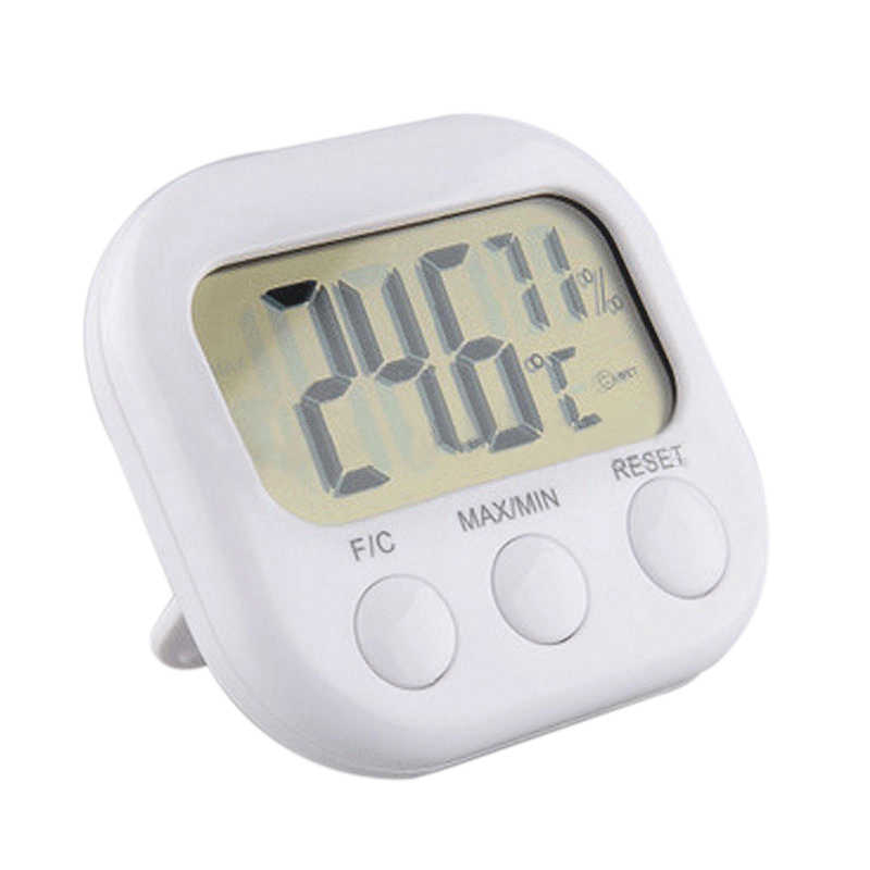 Newest Indoor Room LCD Electronic Temperature Humidity Meter Gauge Digital Thermometer Hygrometer