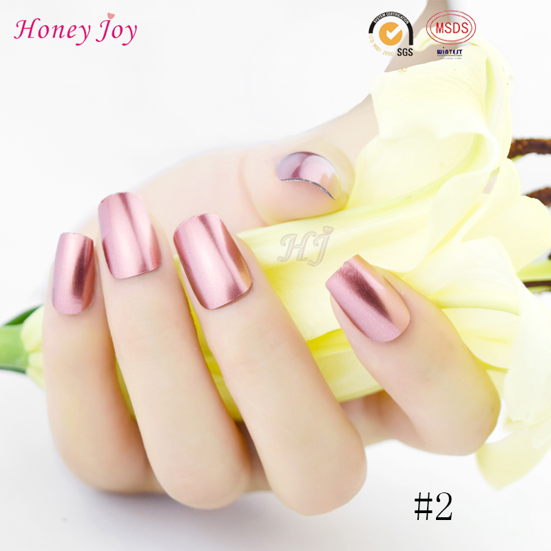 Alegría 1 unid Rosa Color Metálico Mirror Efecto miel Empapa de ...