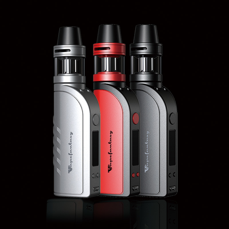 Electronic <font><b>Cigarette</b></font> Hookah Vaporizer Box Mod Vape 40W Tank Atomizer <font><b>E</b></font> Vape Temperature Control With <font><b>2200mAh</b></font> Built-in <font><b>Battery</b></font> image