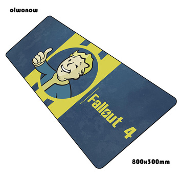 fallout padmouse 800x300mm gaming mousepad game gifts mouse pad gamer computer desk Colourful mat notbook mousemat pc